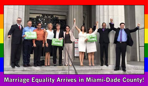 Marriage Equality arrives for Miami-Dade County